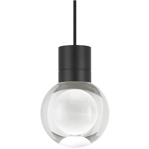 Mina Pendant 1-LITE Clear satin nickel 3000K-2200K 90 CRI led 90 cri warm color dimming 3000k - 2200k 120v (t24)