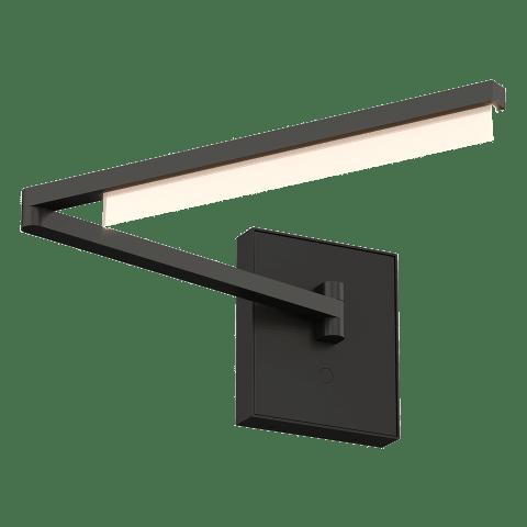 Klee Swing Arm Wall nightshade black 3000K 90 CRI integrated led 90 cri 3000k 120v-277v unv