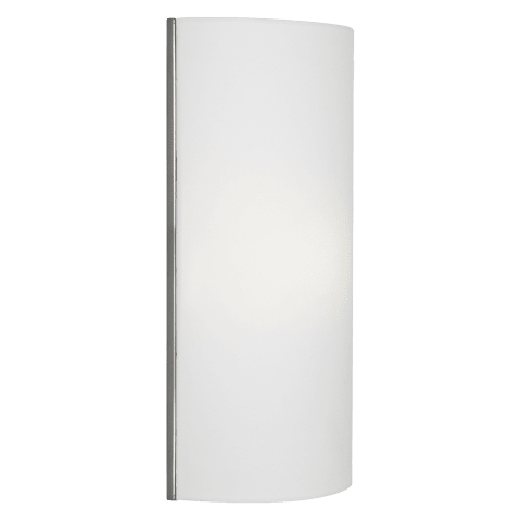 Lexington Wall White satin nickel led 2700k 120v