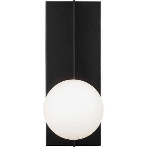 Orbel Wall  matte black no lamp