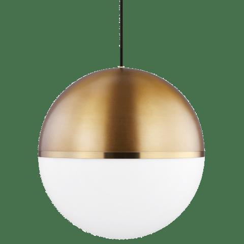 Akova Grande Pendant Aged Brass/Bright Brass