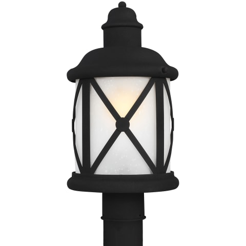 Lakeview One Light Outdoor Post Lantern Black Bulbs Inc