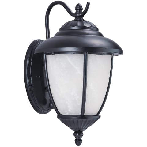 Yorktown One Light Outdoor Wall Lantern Black Bulbs Inc
