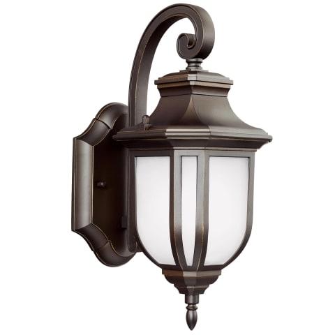 Childress Small One Light Outdoor Wall Lantern Antique Bronze
