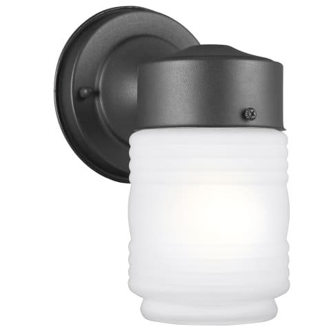 One Light Lantern Black Bulbs Inc