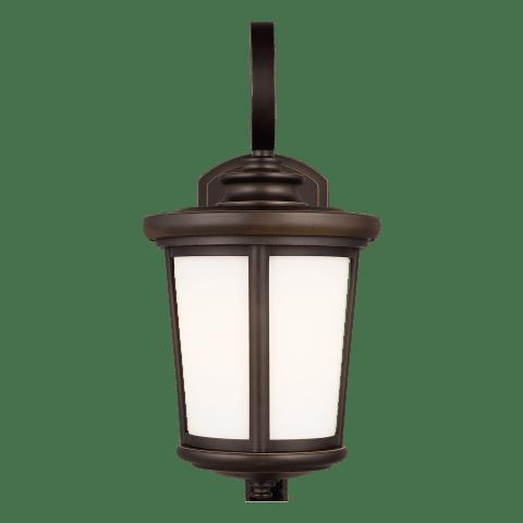 Eddington Medium One Light Outdoor Wall Lantern Antique Bronze