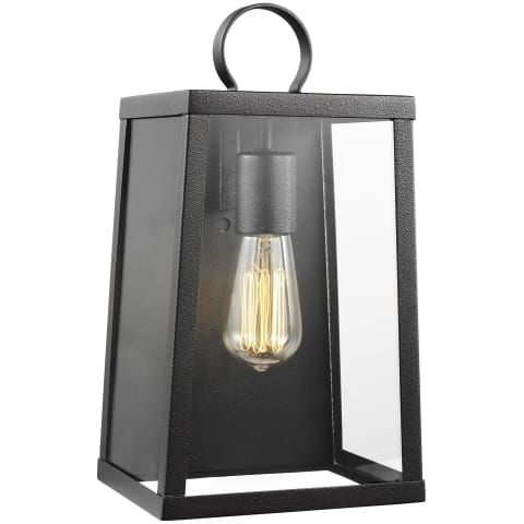 Marinus Medium One Light Outdoor Wall Lantern Blacksmith