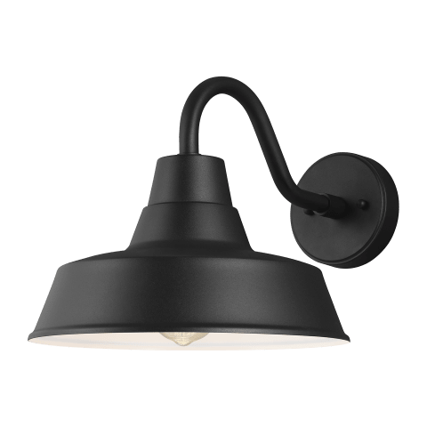 Barn Light Medium One Light Outdoor Wall Lantern Black