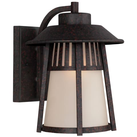 Hamilton Heights Large One Light Outdoor Wall Lantern Oxford Bronze Bulbs Inc