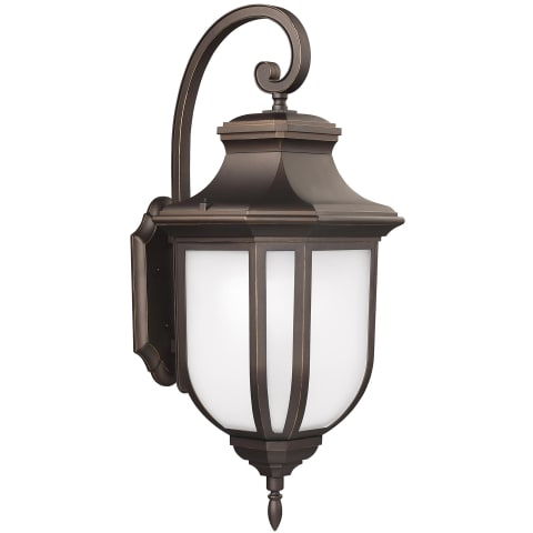 Childress Extra Large Two Light Outdoor Wall Lantern Antique Bronze
