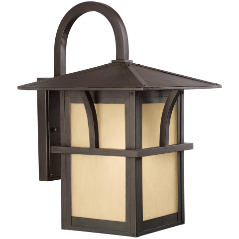 Medford Lakes One Light Outdoor Wall Lantern Statuary Bronze