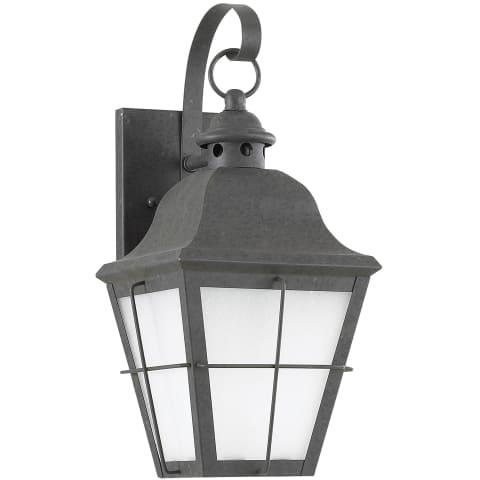 Chatham One Light Outdoor Wall Lantern Oxidized Bronze Bulbs Inc