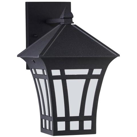 Herrington One Light Outdoor Wall Lantern Black