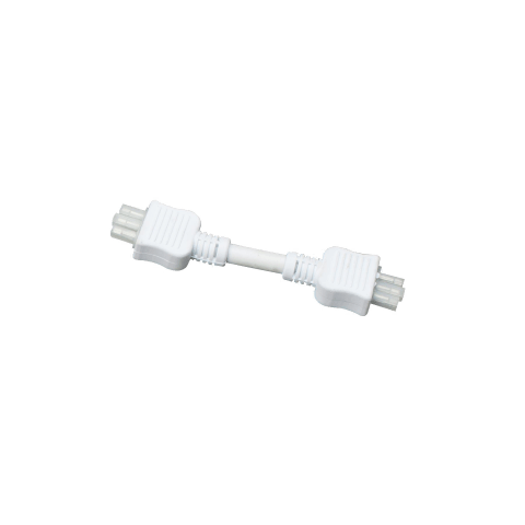 6 Inch Connector Cord White