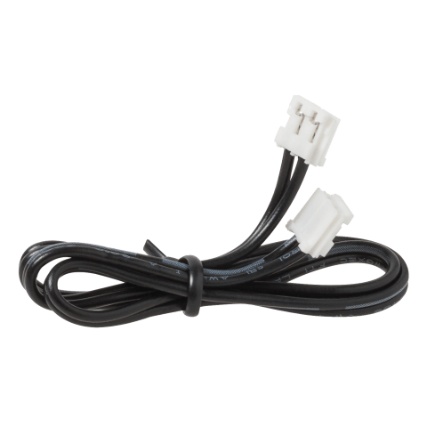 "12"" LED Disk Connector Cord Black"