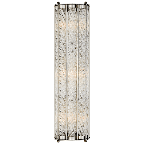 Eaton Linear Sconce in Polished Nickel