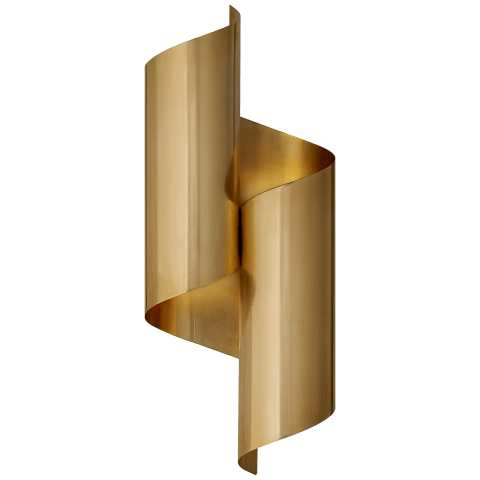 Iva Medium Wrapped Sconce in Hand-Rubbed Antique Brass