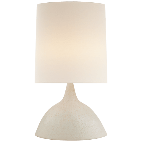 Fanette Large Table Lamp in Marion White with Linen Shade