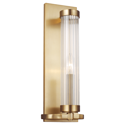 Demi Sconce Burnished Brass