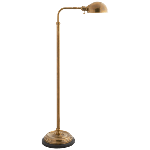 Apothecary Floor Lamp in Antique-Burnished Brass