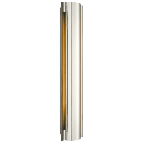 Jensen Large Wall Wash Sconce in Polished Nickel