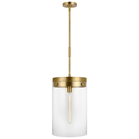 Garrett 1 - Light Pendant Burnished Brass