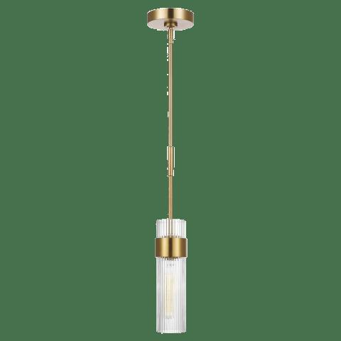 Geneva Medium Pendant Burnished Brass
