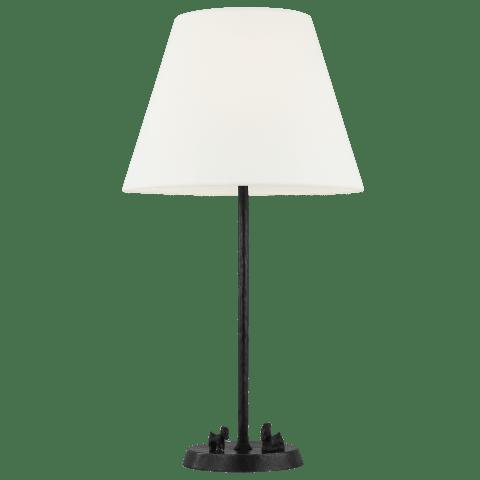 Caroline 1 - Light Table Lamp Aged Iron Bulbs Inc