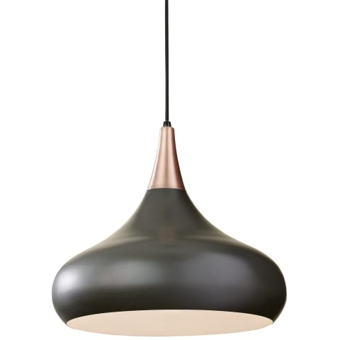 Belle 1-Light Chandelier Dark Bronze