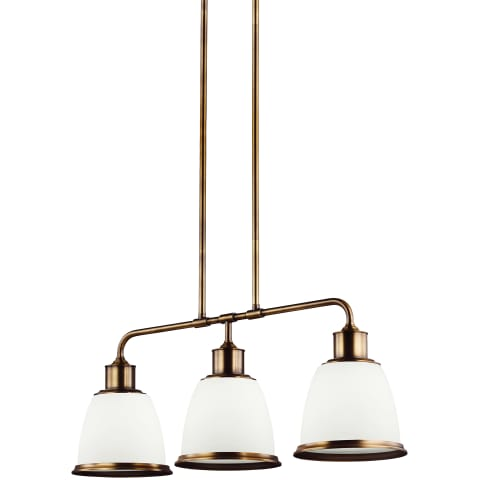 Hobson 3 - Light Island Aged Brass