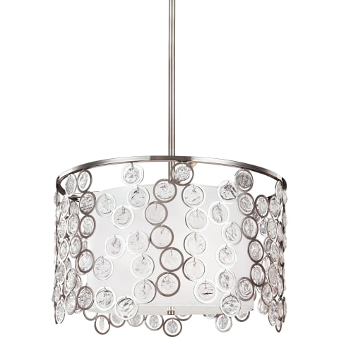 Lexi 3 - Light Pendant Polished Nickel