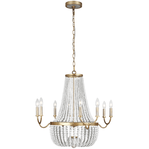 Marielle Medium Chandelier Antique Gild