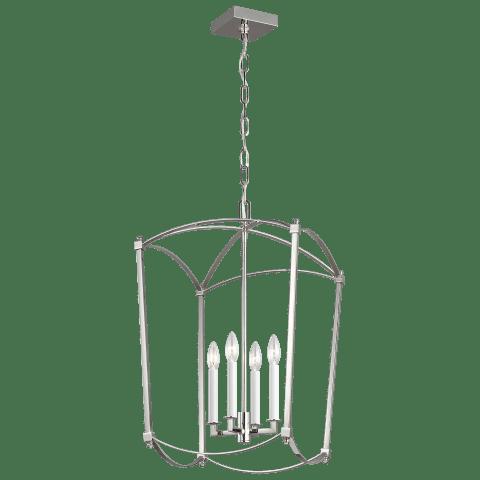 Thayer 4 - Light Lantern Polished Nickel
