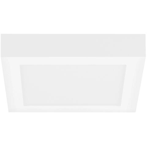 Tenur Square 9 Flush Mount Opal Acrylic white 3000K 90 CRI led module xxw 90 cri 3000k 120v