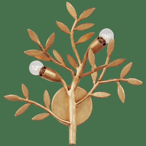 Mandeville Sconce in Antique Gold Leaf