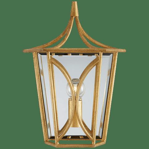 Cavanagh Mini Lantern Sconce in Gild