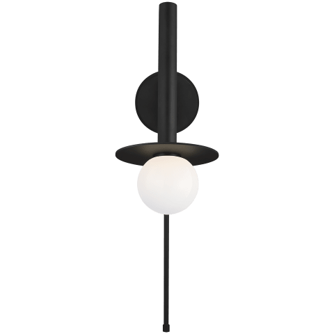 Nodes Pivot Sconce Midnight Black