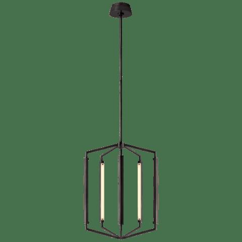 Appareil Medium Lantern in Bronze