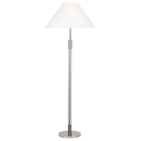 Robert Floor Lamp Polished Nickel Bulbs Inc