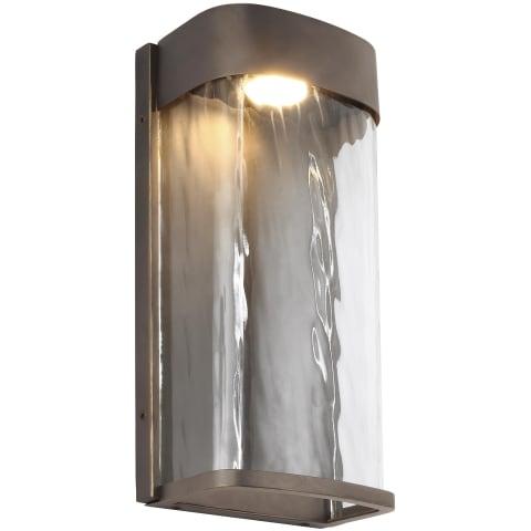 Bennie 1 - Light LED Outdoor Wall Lantern Antique Bronze Bulbs Inc