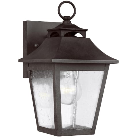 Galena 1 - Light Wall Lantern Sable
