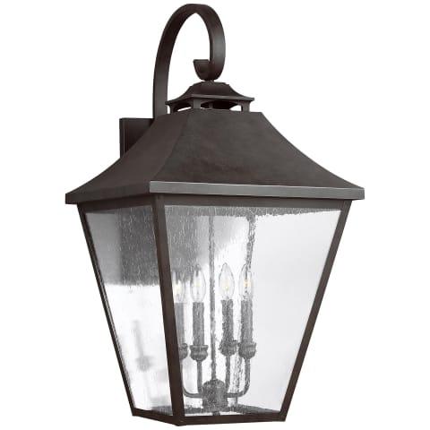 Galena 4 - Light Wall Lantern Sable