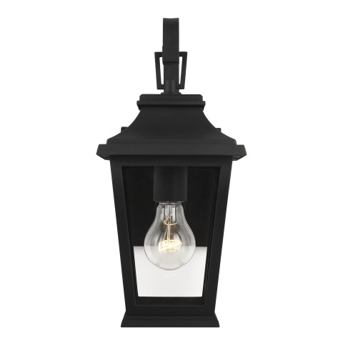 Warren Small Lantern Textured Black