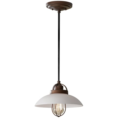 Urban Renewal 1-Light Mini Pendant  Bronze Patina