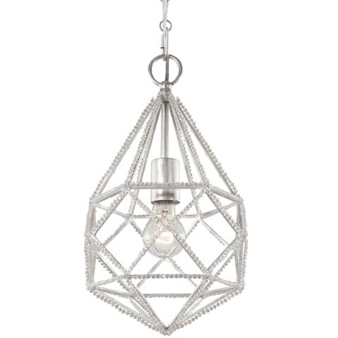 Marquise 1 - Light Mini Pendant Silver