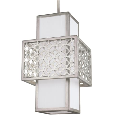 Kenney 1 - Light Mini-Pendant Sunrise Silver