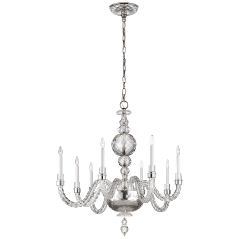 Georgina Medium Chandelier in Crystal