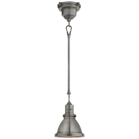 Fulton Mini Pendant in Industrial Steel
