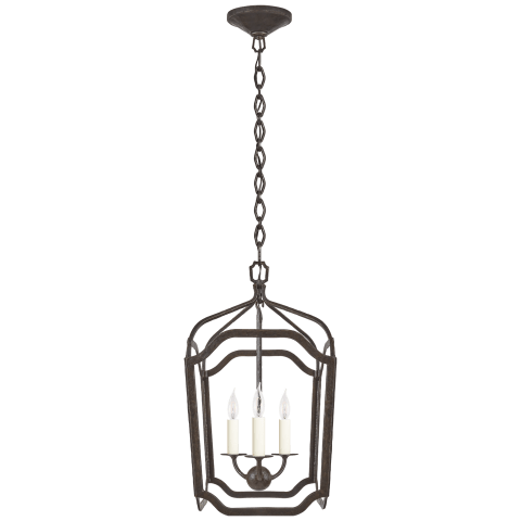 Ancaster Small Blacksmith Lantern in Aged Iron