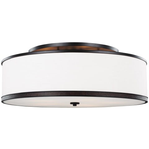 Marteau 5 - Light Indoor Semi-Flush Mount Oil Rubbed Bronze